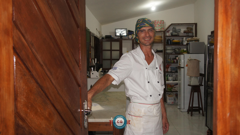 O pizzaiolo Piero Monti, da il Tempio Calzoneria e Pizzaria Italiana, abriu as portas de sua cozinha para bater um papo sobre a tradição da pizza italiana.