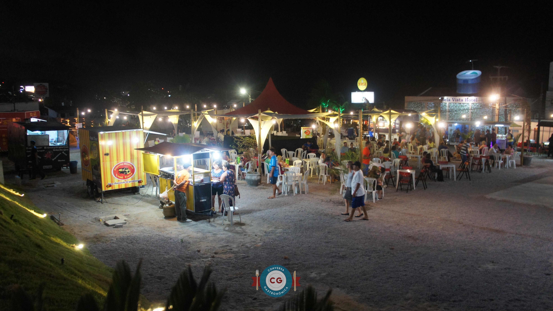 Ponta Negra ganha food park permanente