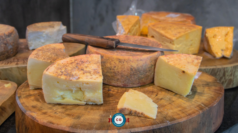 8 queijos além do tradicional