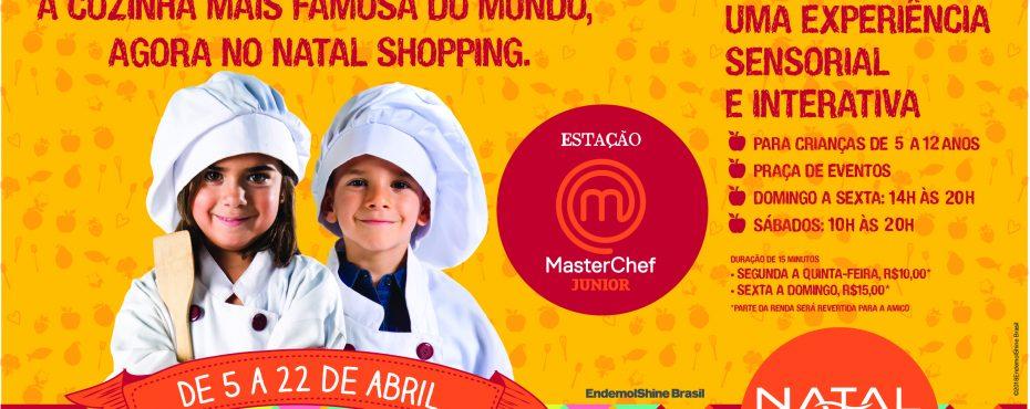 Estação MasterChef Júnior Brasil chega a Natal