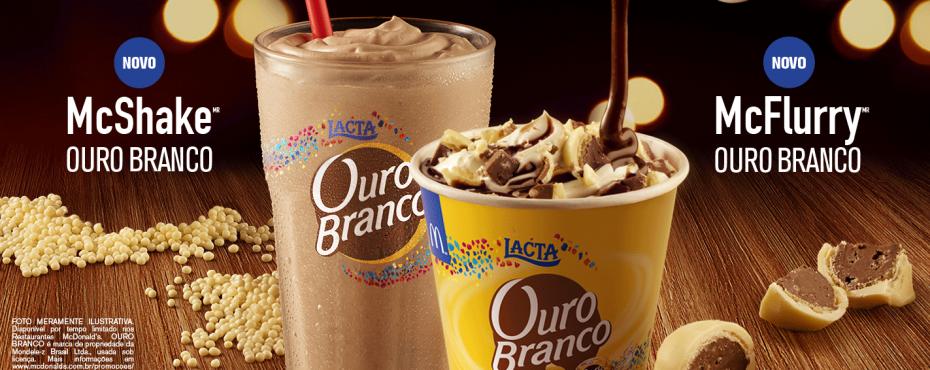 Ouro Branco integra sobremesas do McDonald's