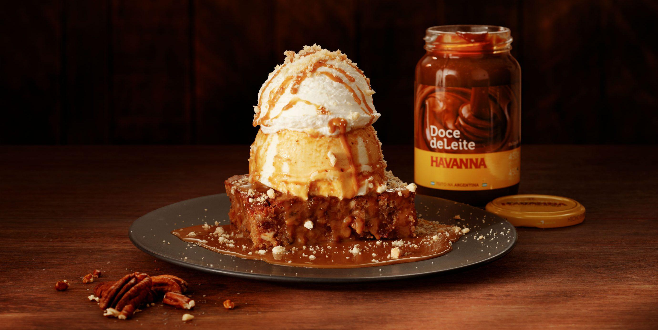 Outback lança brownie com doce de leite Havanna