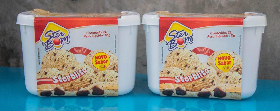 Ster Bom lança sorvete Sterblito