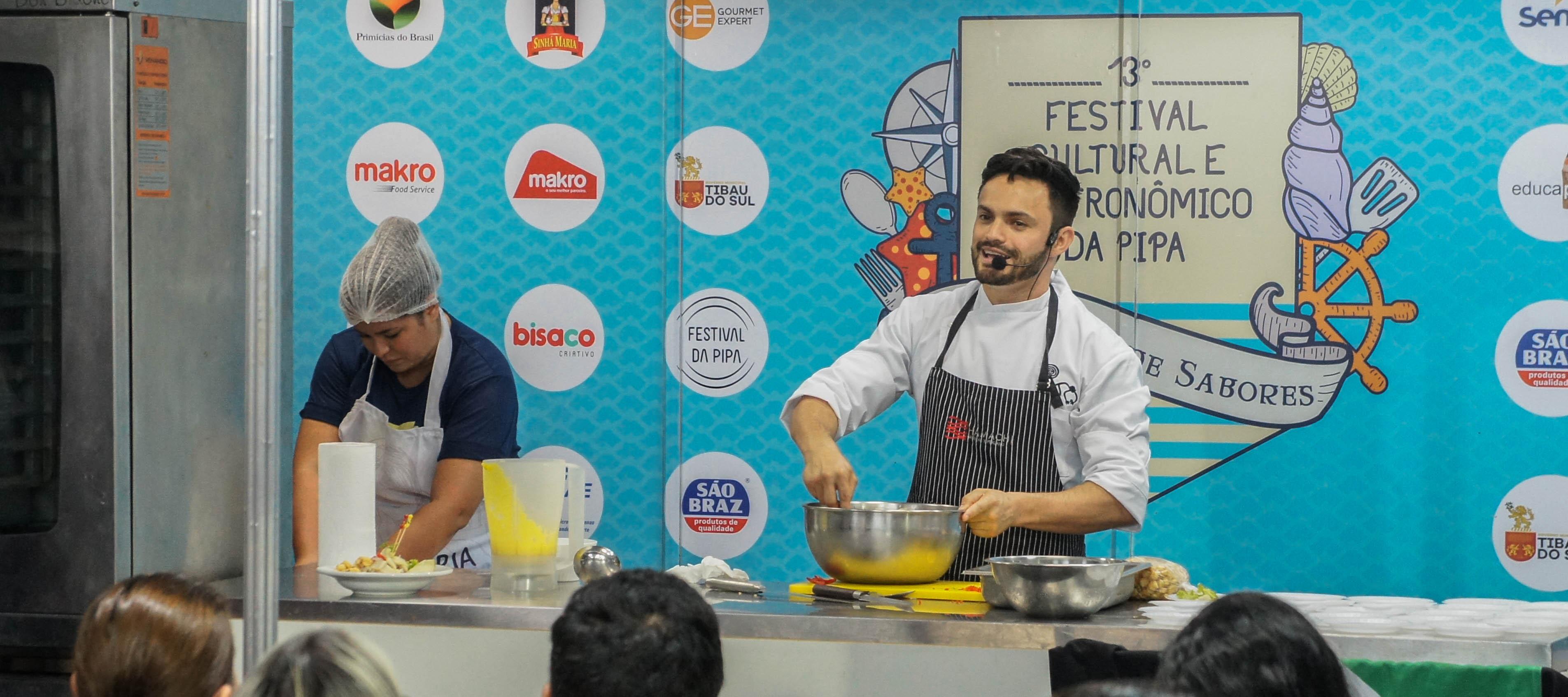 Chefs consagrados vão assinar menus no 14º Festival da Pipa
