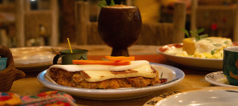 Uma ode à culinária nordestina na Casa de Taipa
