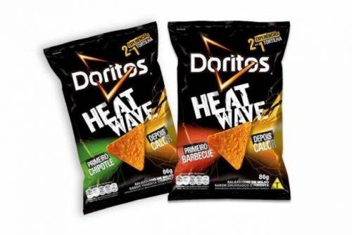Doritos lança versão Heatwave® no Brasil