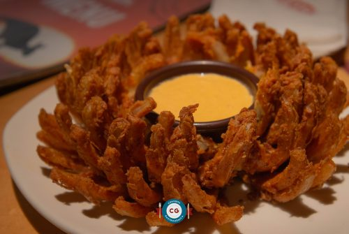 Bloomin' Onion é cortesia durante Aussie Week no Outback