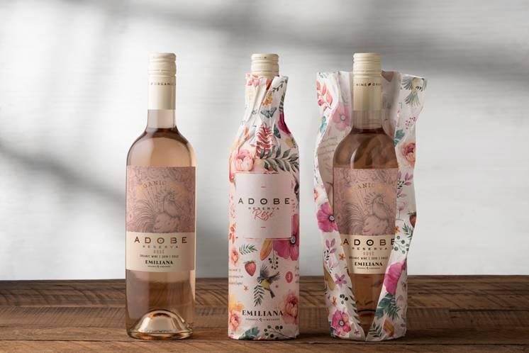 Vinho rosé – sustentável e orgânico – para o verão