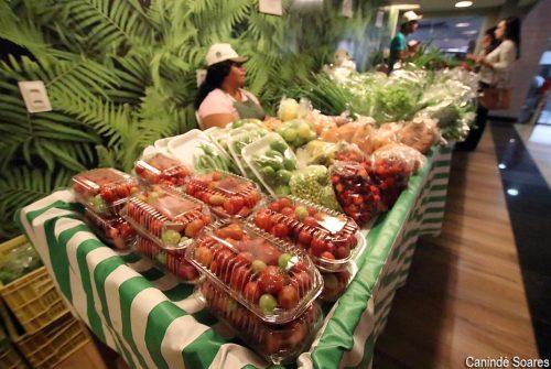 Feira orgânica dispõe de alimentos sem agrotóxicos em shopping de Natal