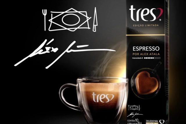 Alex Atala assina novo espresso TRES