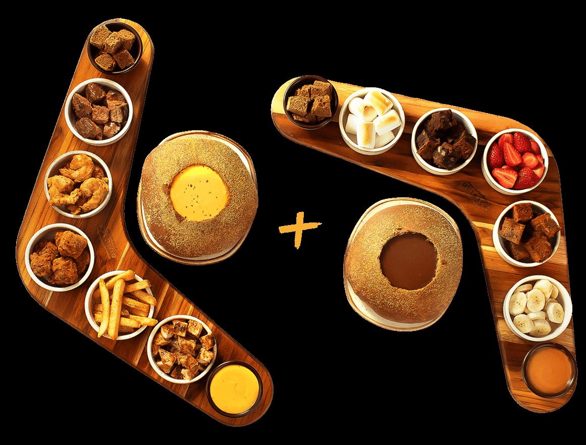 Steakhouse lança fondue com ítens de seu menu