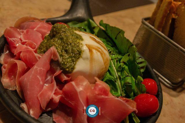 Quintal tem culinária ítalo-contemporânea com produtos DiBufalo em Jampa
