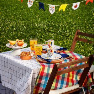 Festa da Macuca inspira linha de mesas para o São João em loja nacional de decoração