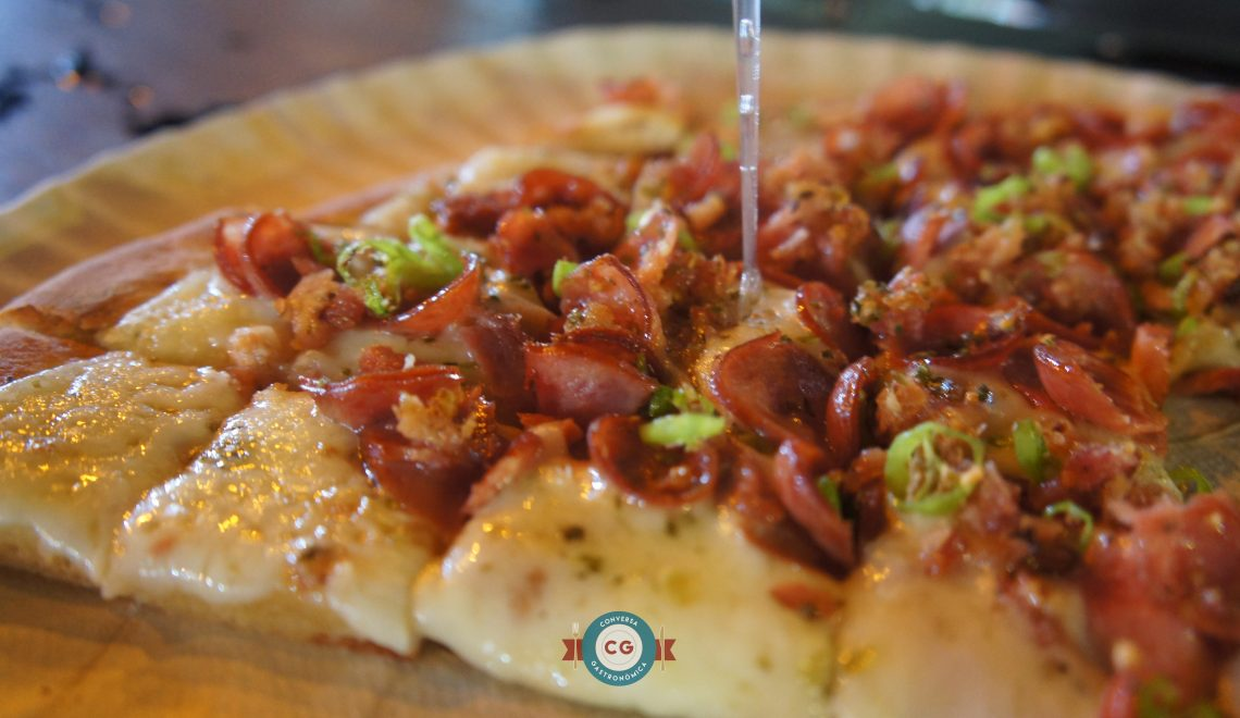 Tudo acaba em 'Fatia's' de pizza!