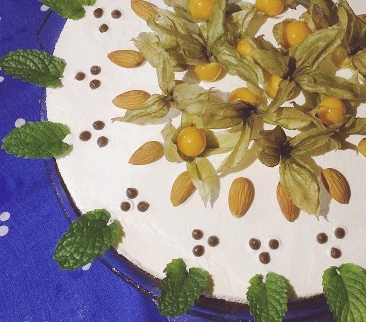 Mousse de Chocolate com Menta