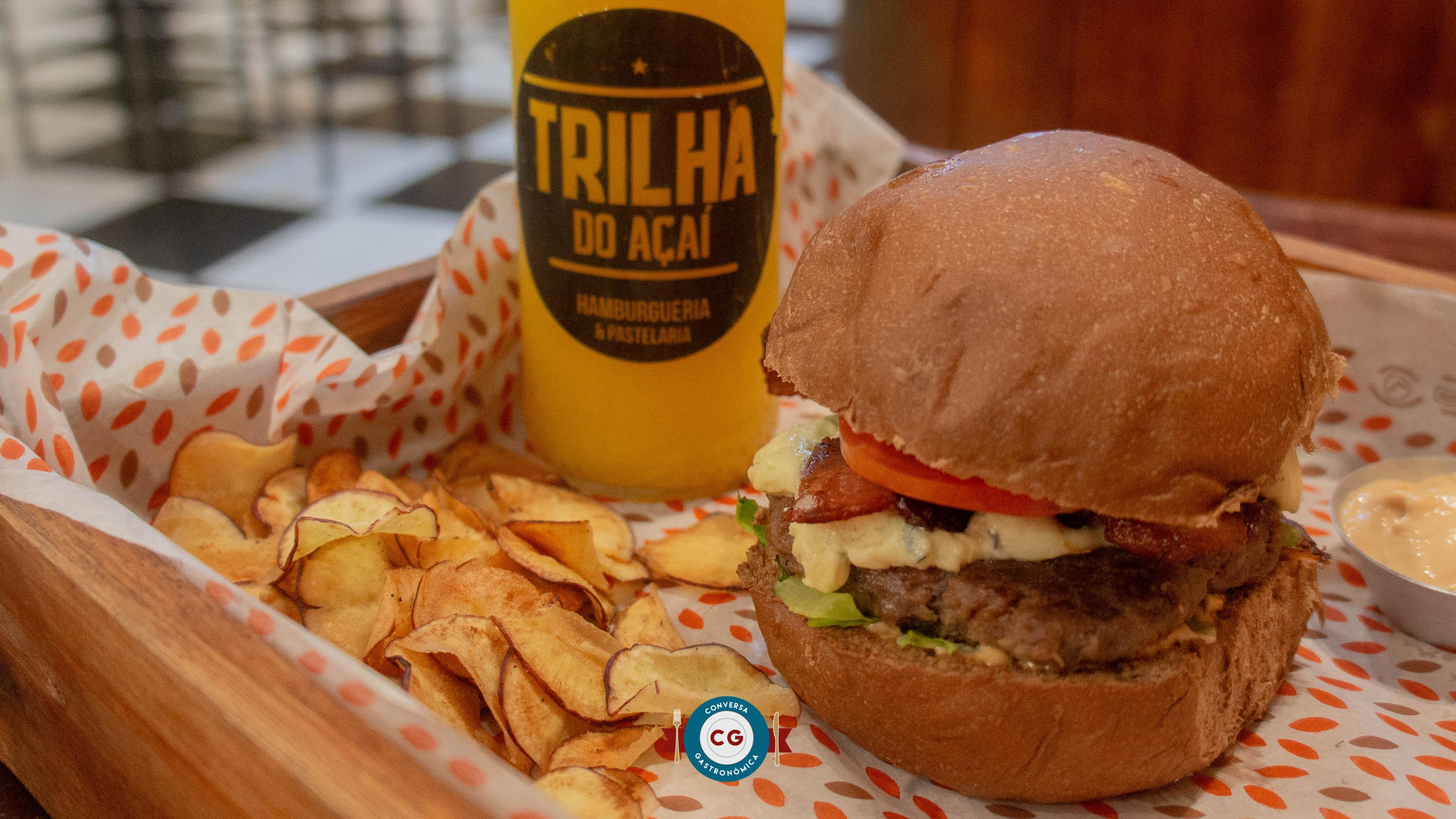 Burger, petiscos e açaí ao custo-benefício Trilha